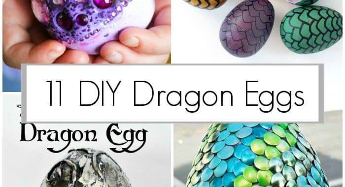 How to Make Dragon Eggs, 11 Dragon Egg Ideas, DIY Crafts for Kids, DIY Projects, Easy Craft Ideas (1)
