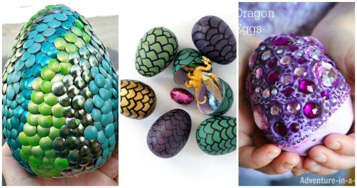 How to Make Dragon Eggs, 11 Dragon Egg Ideas, DIY Crafts for Kids, DIY Projects, Easy Craft Ideas