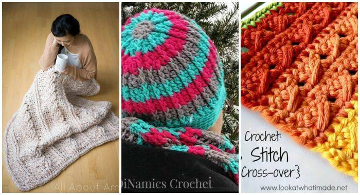 26 Free Crochet Cable Stitch Patterns, Crochet Stitches, Free Crochet Patterns, DIY Crafts