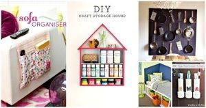 60 Unique DIY Storage Ideas You Haven't Tried Before, DIY Storage Projects, DIY Storage, DIY Crafts, DIY Ideas, DIY Projects, DIY Home Decor Ideas