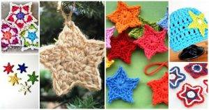 Crochet Star Patterns, 37 Free Crochet Start Stitch, Free Crochet Patterns, Crochet Stitches, DIY Crafts