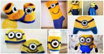 24 Free Crochet Minion Patterns, minion amigurumi, minion pattern printable
