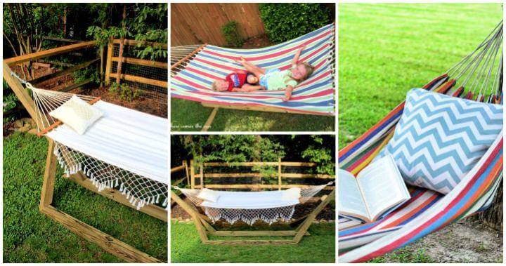 15 DIY Hammock Stand Plans, hammock hanger, hammock stand projects, DIY hammocks, DIY Garden Projects, DIY Crafts