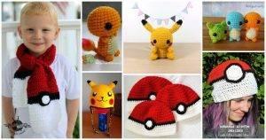 15 Free Crochet Pokemon Patterns, Free Crochet Patterns, Free Patterns, Crochet Patterns, DIY Crafts