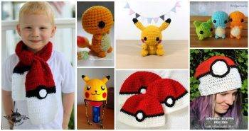 15 Free Crochet Pokemon Patterns, Free Crochet Patterns, Free Patterns, Crochet Patterns, DIY Crafts