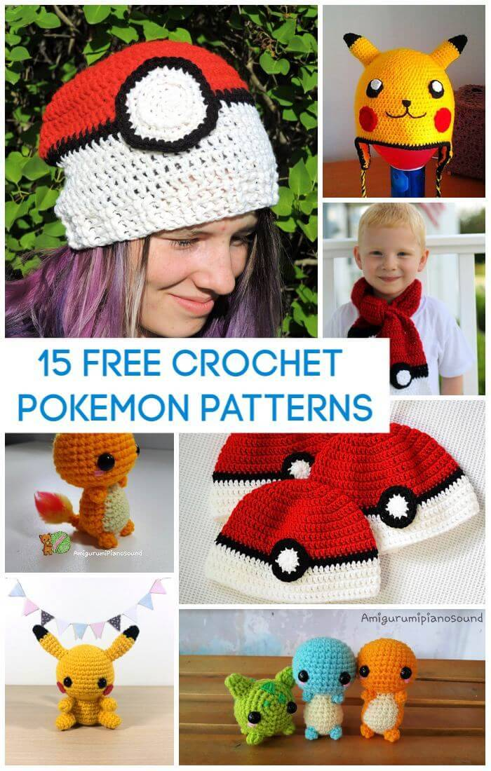 How to Make A Crochet Ball (+Pokeball Pattern) | | 1100x700