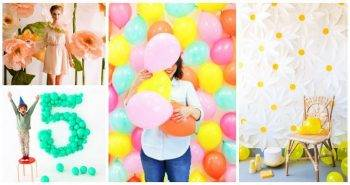25 Easy DIY Backdrop Ideas for Photography, photography backdrops, backdrop ideas for party, easy craft ideas, DIY crafts