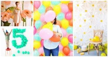 25 Easy DIY Backdrop Ideas for Photography, photography backdrops, backdrop ideas for party, easy craft ideas, DIY crafts