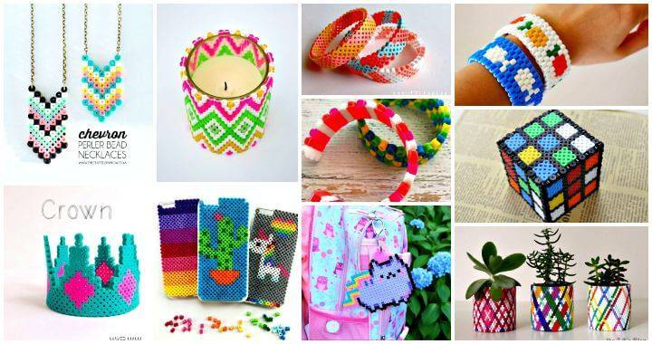 Diy Perler Beads Crafts 35 Easy Perler Bead Ideas Diy Crafts