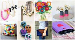 Top 60 DIY Felt Crafts To Make and Sell, DIY Felt Craft Ideas, DIY Crafts, Easy Craft Ideas