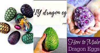 11 DIY Dragon Eggs Craft How to Make Dragon Eggs