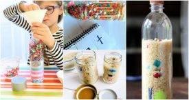 13 Creative DIY I Spy Bottle Projects, diy i spy game, find it bottle. diy seek and find bottle, DIY Crafts
