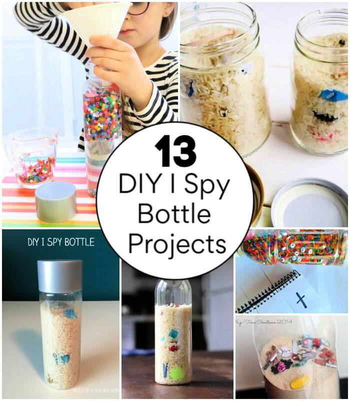 13 Creative DIY I Spy Bottle Projects, diy i spy game, find it bottle. diy seek and find bottle, DIY Crafts