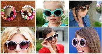16 Easy Ways to Decorate Your old Sunglasses, DIY Crafts, DIY Projects