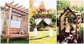 20 Chic and Easy DIY Arbor Plans, DIY Arbor for Wedding, DIY Crafts, DIY Projects, DIY Wedding Ideas