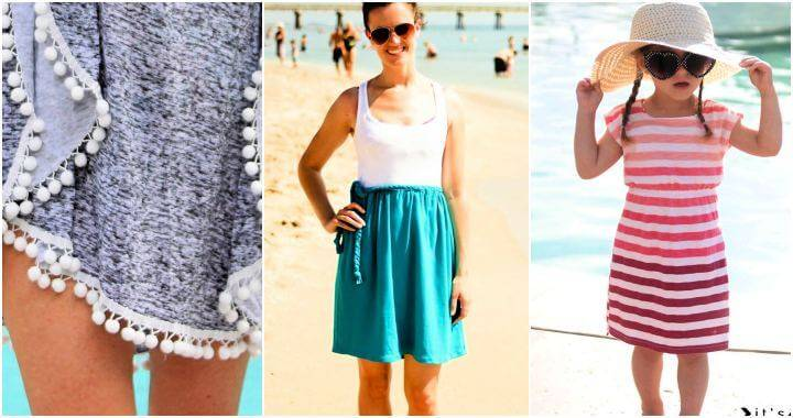 25 DIY Beach Cover Up Ideas for Summer, DIY Swim Cover up Ideas, DIY Crafts