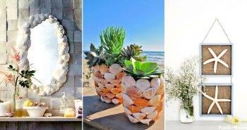 28 DIY Coastal Decor Ideas for Your Beautiful Home