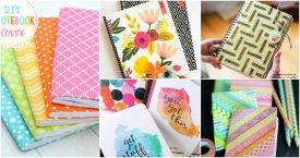 30 DIY Notebook Cover Ideas, DIY Notebooks, DIY Crafts, DIY Crafts for Kids, Easy DIY Projects (1)