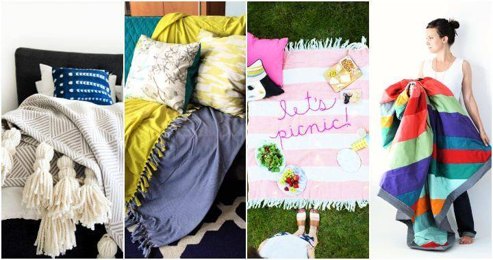 30 Throw Blankets For Summer That You can DIY, DIY Crafts, DIY Projects, DIY Ideas
