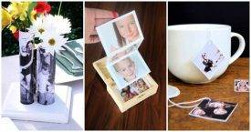 35 Best DIY Photo Gift Ideas for Your Friends and Family