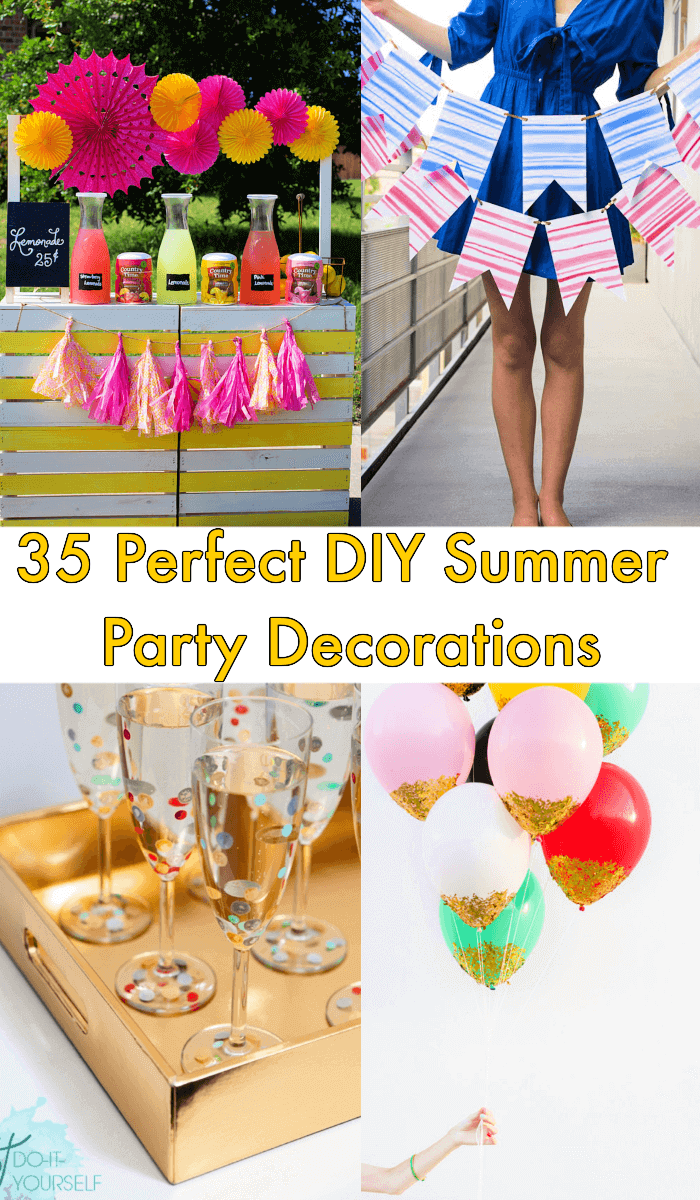 35 Perfect Diy Summer Party Decorations Ideas Crafts
