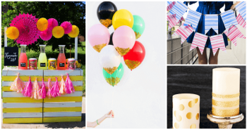 35 Perfect DIY Summer Party Decorations, diy summer party ideas,how to decorate party, DIY Crafts, DIY Projects