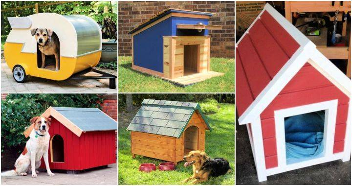 40 Dog House Plans To Build One For Your Dog