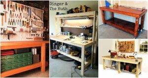 40 Workbench Plans That Are Cheap and Easy To Build