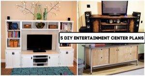 5 DIY Entertainment Center Plans You Can Make, Pallet entertainment Center, DIY Projects, DIY Crafts, DIY Home Decor Ideas