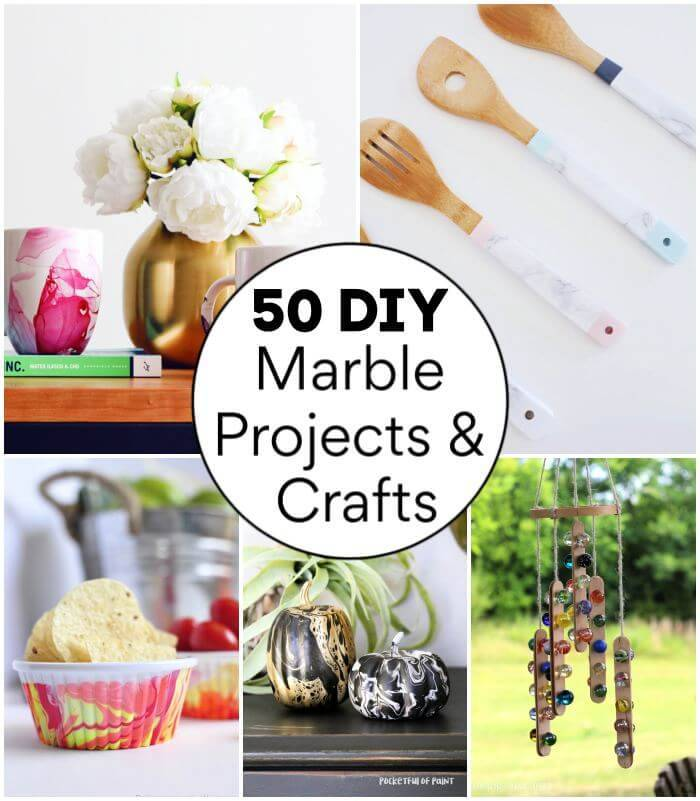 50 DIY Marble Projects & Crafts to Update Your Home With, DIY Projects, DIY Crafts