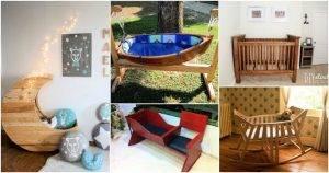 6 Adorable DIY Baby Cradle / Crib Plans, DIY Baby Cradle Plans, DIY Baby Crib Plans, DIY Crafts