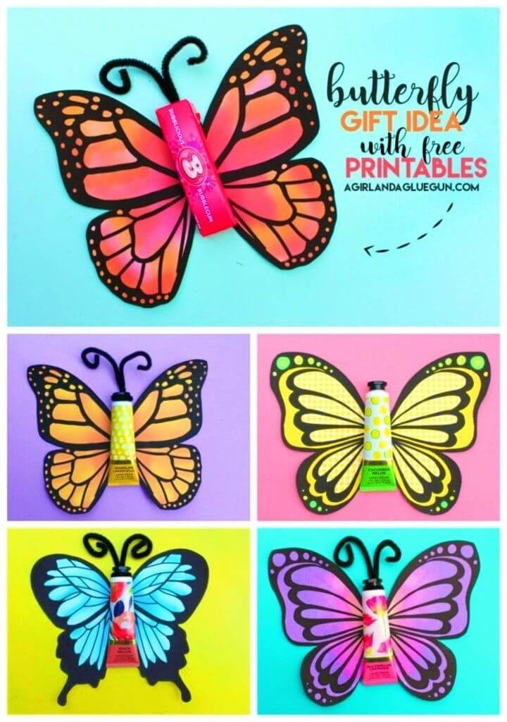 DIY Butterfly Birthday Card, homemade birthday cards for kids