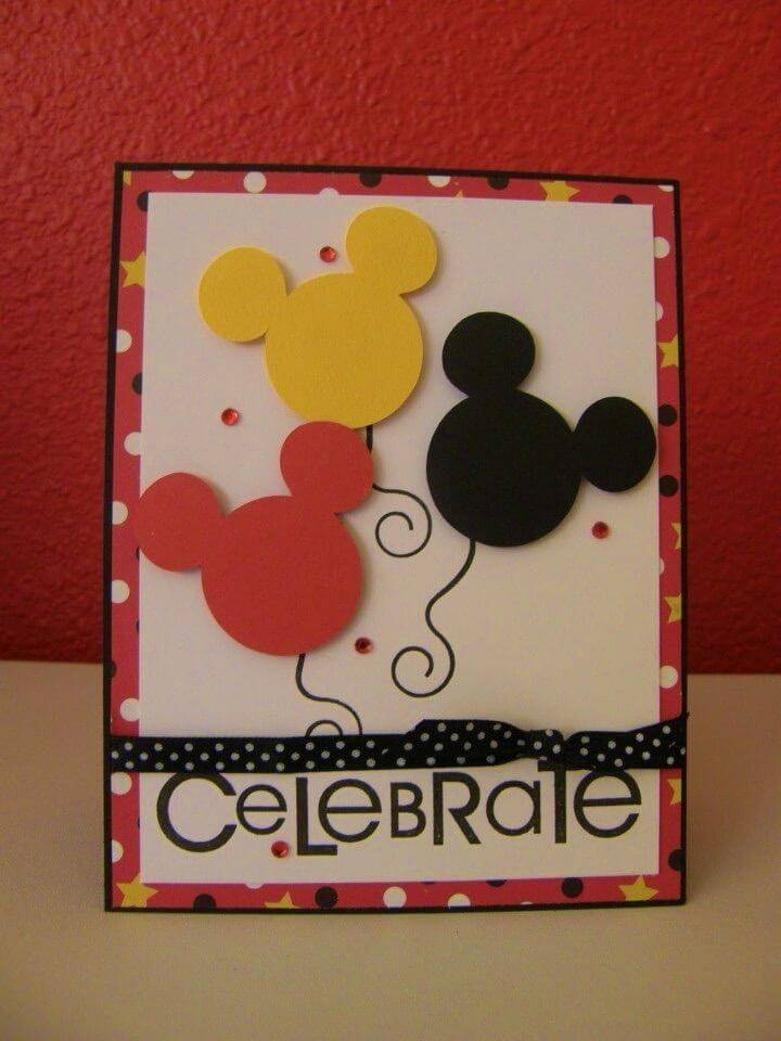 DIY Disney Birthday Cards, Homemade Birthday Cards for Kids