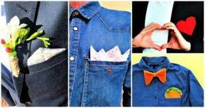 DIY Pocket Square Ideas, DIY Projects, DIY Crafts