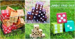 DIY Wood Dice Crafts, how to make wooden dice, 11 Step by Step Tutorials, DIY Crafts