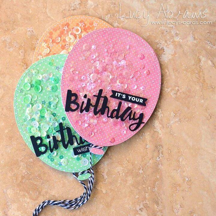 Great DIY Shaker Birthday Cards