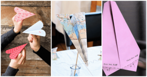 How to Make a Paper Airplane ? 14 DIY Paper Airplane Ideas, DIY Crafts