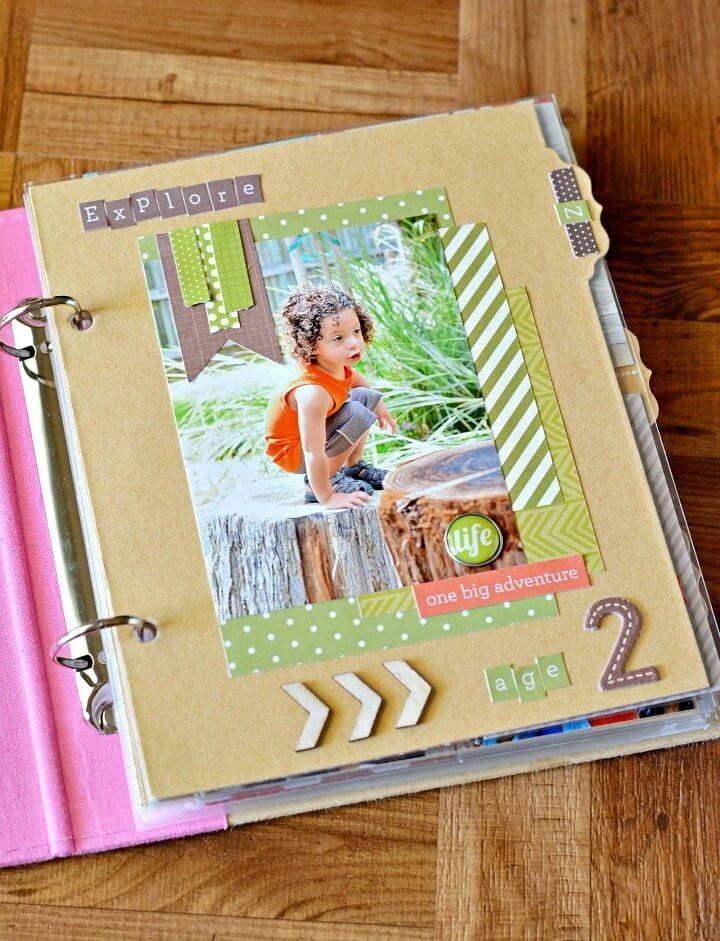 Make Your Own Scrapbook., scrap-booking is also a great way to save your past memories in a lovely way, so also make scrapbook photo albums for securing family photos!