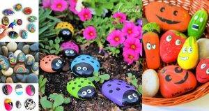 Painted Rocks, 90 Easy DIY Rock Painting Ideas