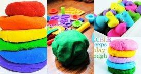 Playdough Recipe, Homemade Playdough Recipe, Easy Playdough Recipe for Kids Art and Crafts