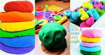 Playdough Recipe, Homemade Playdough Recipe, Easy Playdough Recipe for Kids Art and Crafts
