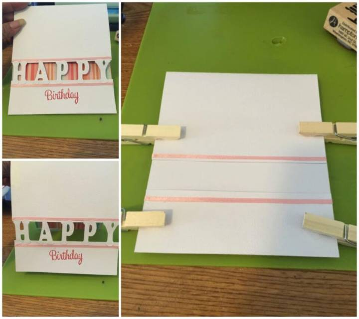 Simple, Fun, and Easy DIY Birthday Card, Easy Birthday Card Idea