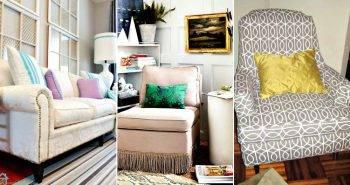 Top 10 DIY Sofa Makeover Ideas