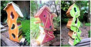 pallet birdhouse, How to Build a Birdhouse From Pallets