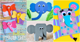 20 Creative Elephant Crafts for Kids To DIY