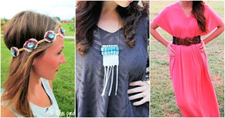25 Best DIY Boho Clothes and Jewelry Projects