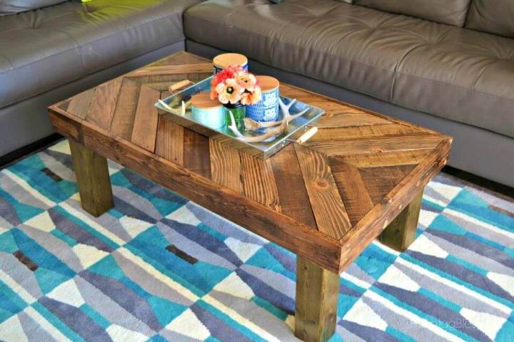 Budget freindlly DIY Pallet Coffee Table