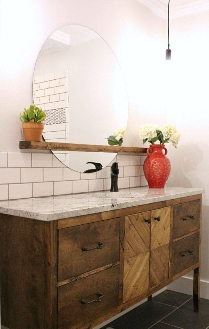 Build Your Own Bathroom Vanity