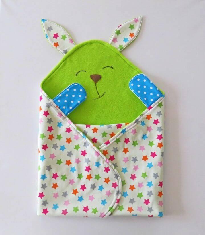 Colorful DIY Baby Blanket