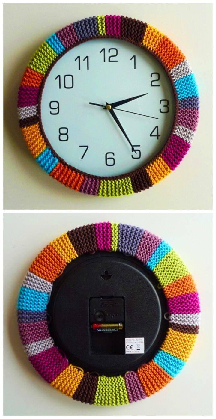 Colorful DIY Circle Clock Widget Ios